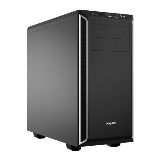 Be Quiet! Pure Base 600 Gaming Case, ATX, No PSU, 2 x Pure Wings
