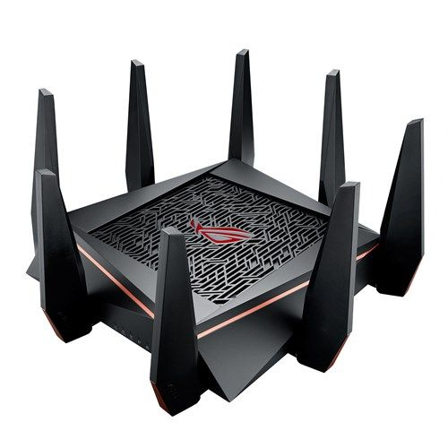 Asus ROG Rapture (GT-AC5300) AC5300 Wireless Tri-Band GB Cable Router, USB 3.0, Gaming Optimization